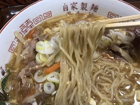 かづの牛玉あんかけ麺