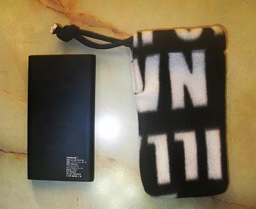 モバイルバッテリー専用袋