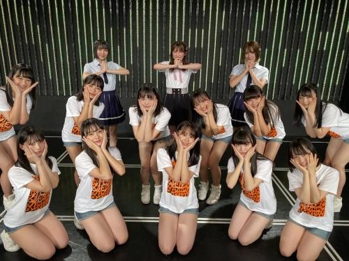 【NMB48】「美少女ぞろい」7期生11人がお披露目!フレッシュ12歳(中1)~23歳 キャプテン小嶋「顔面レベルがとっても高い」