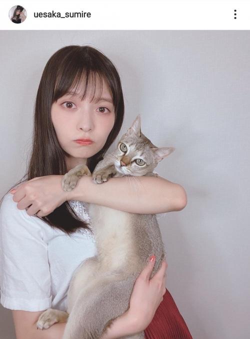 【人気声優】上坂すみれ、愛猫とのキュートな2SHOTにファン絶賛!