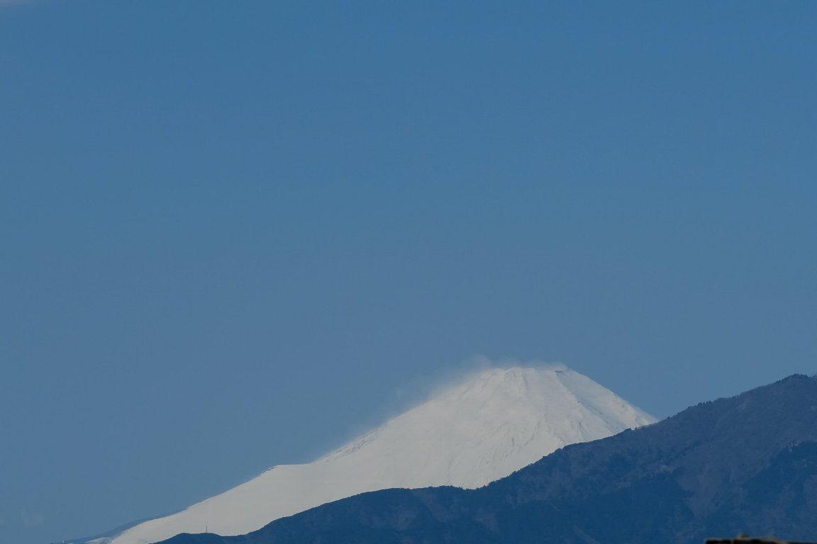 2021.03.14 駅前 富士山