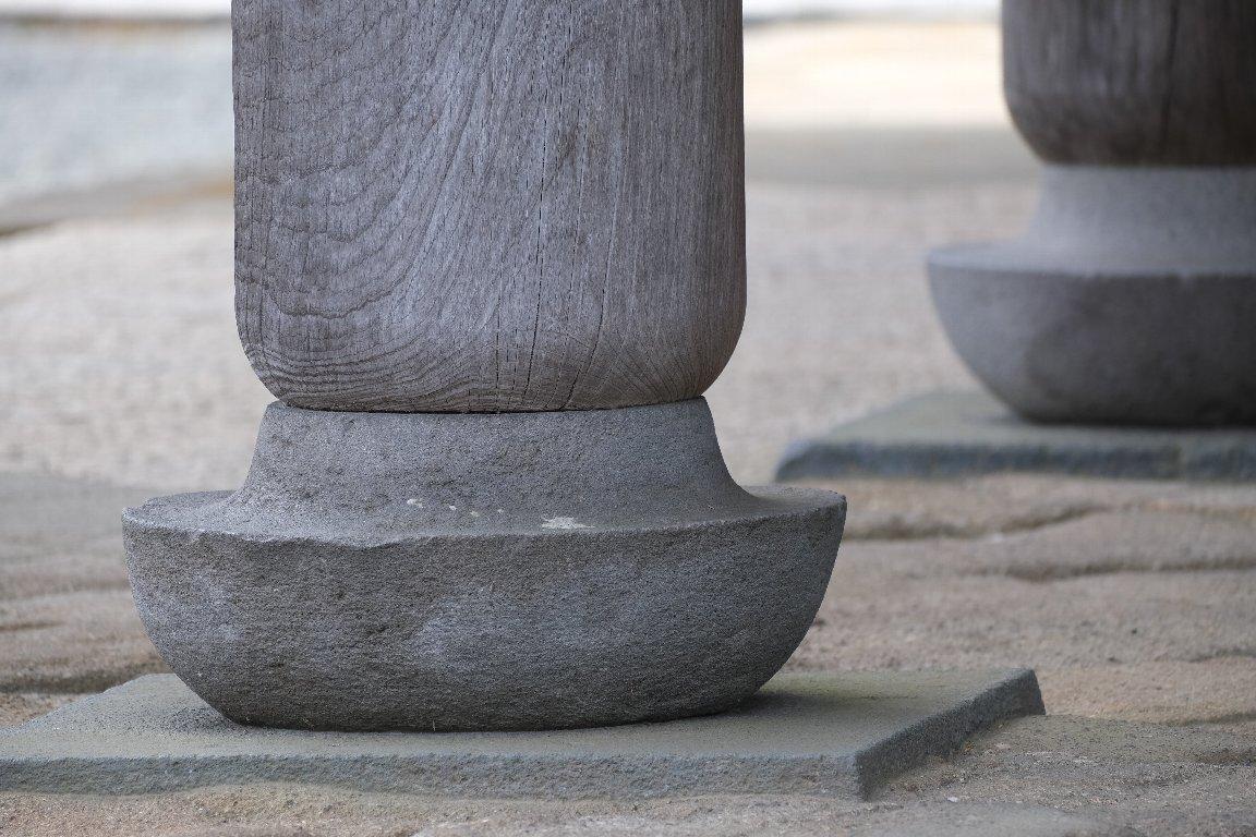 2021.03.20 円覚寺 三門 束石