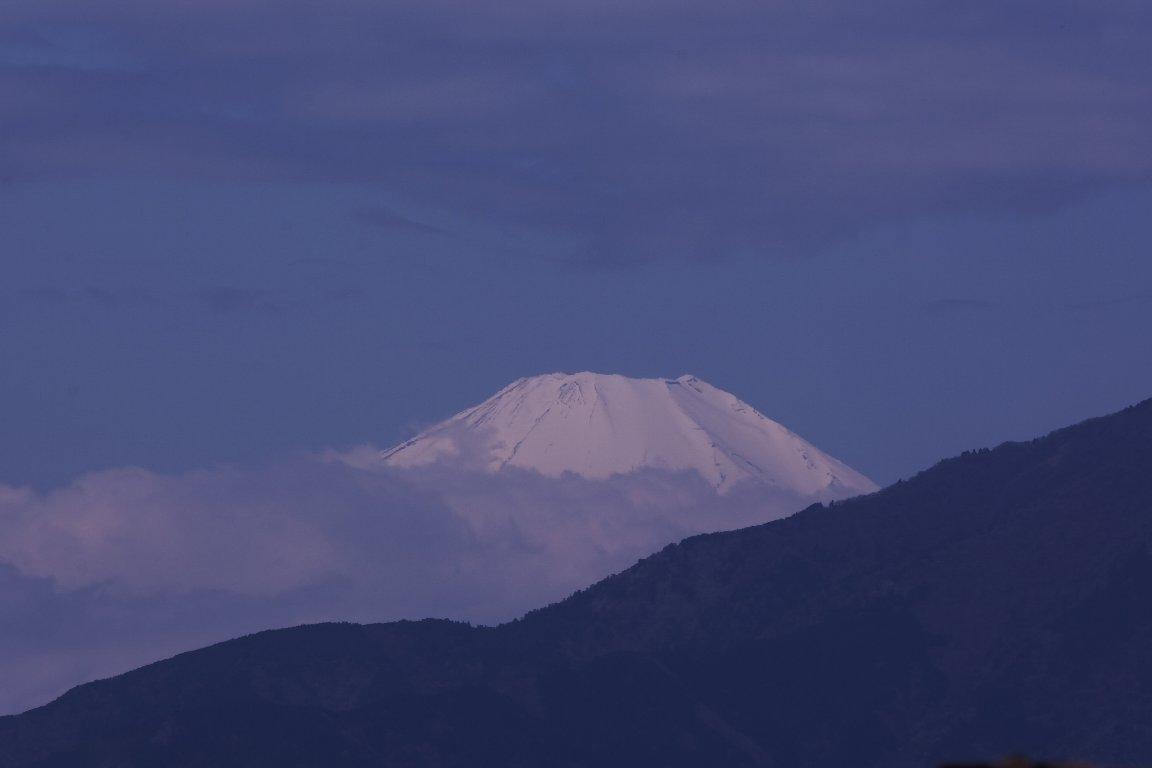 2021.04.10 駅前 富士山