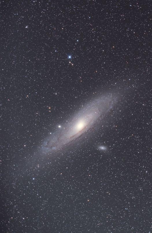 昨年撮影したアンドロメダ銀河
