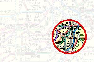 神谷町駅周辺202003
