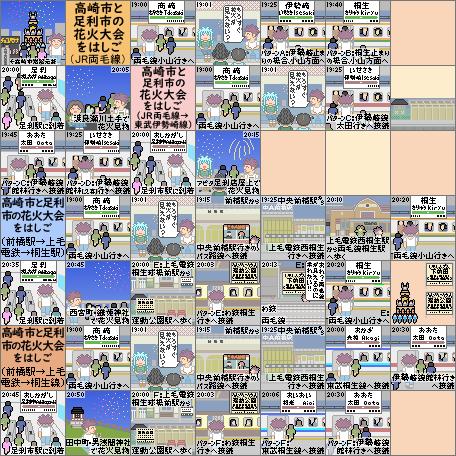 高崎市と足利市の花火大会をはしご(ストーリー)