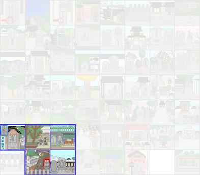 48ピクセルの庚申塔(連結)20200912_0