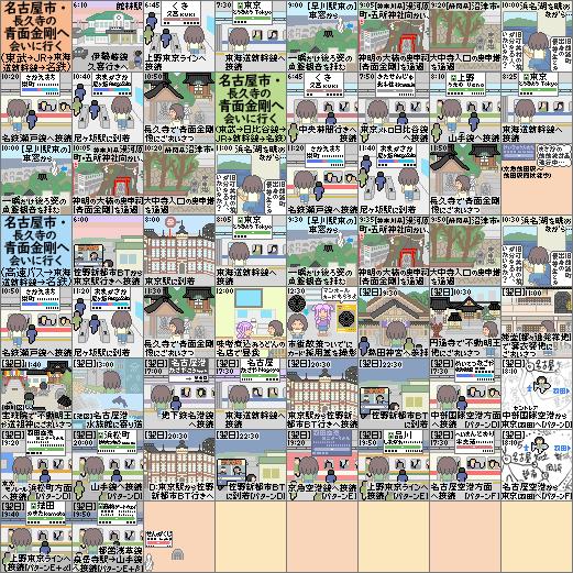 名古屋市の青面金剛へ会いに行く(ストーリー)新幹線20200918