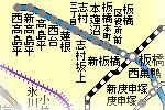 都営三田線志村三丁目駅周辺