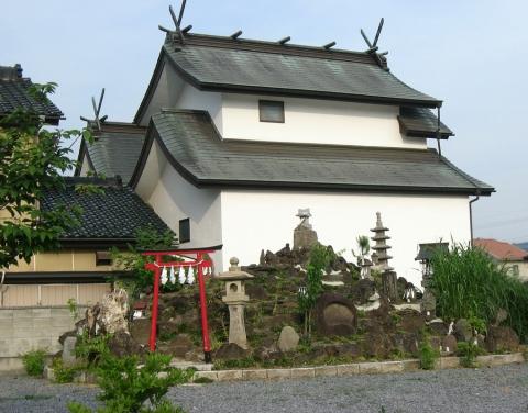 01佐野市田沼町、富士浅間宮の青面金剛像(その1)