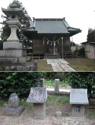 佐野市高橋町・雀神社(索引記事用)