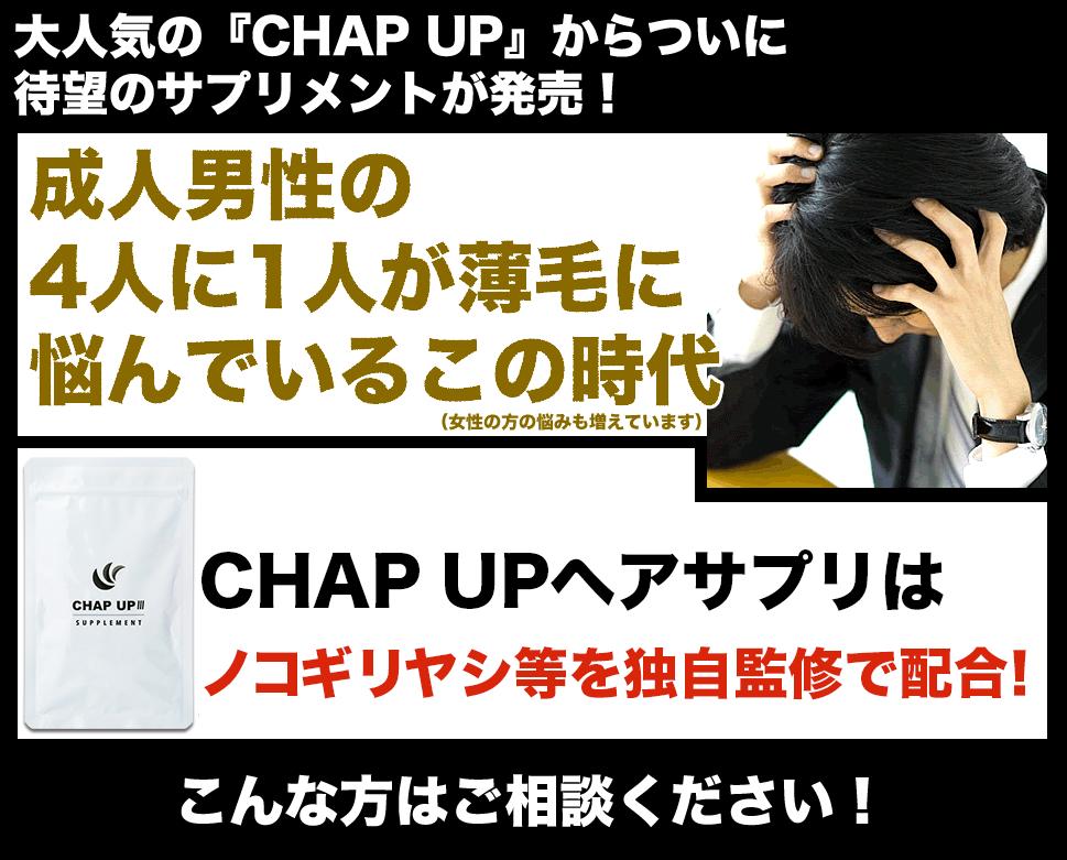 チャップアップサプリ
