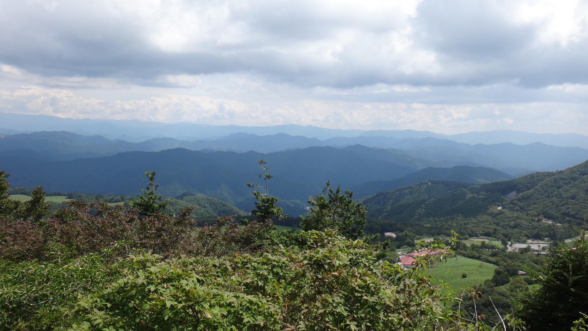茶臼山へ14