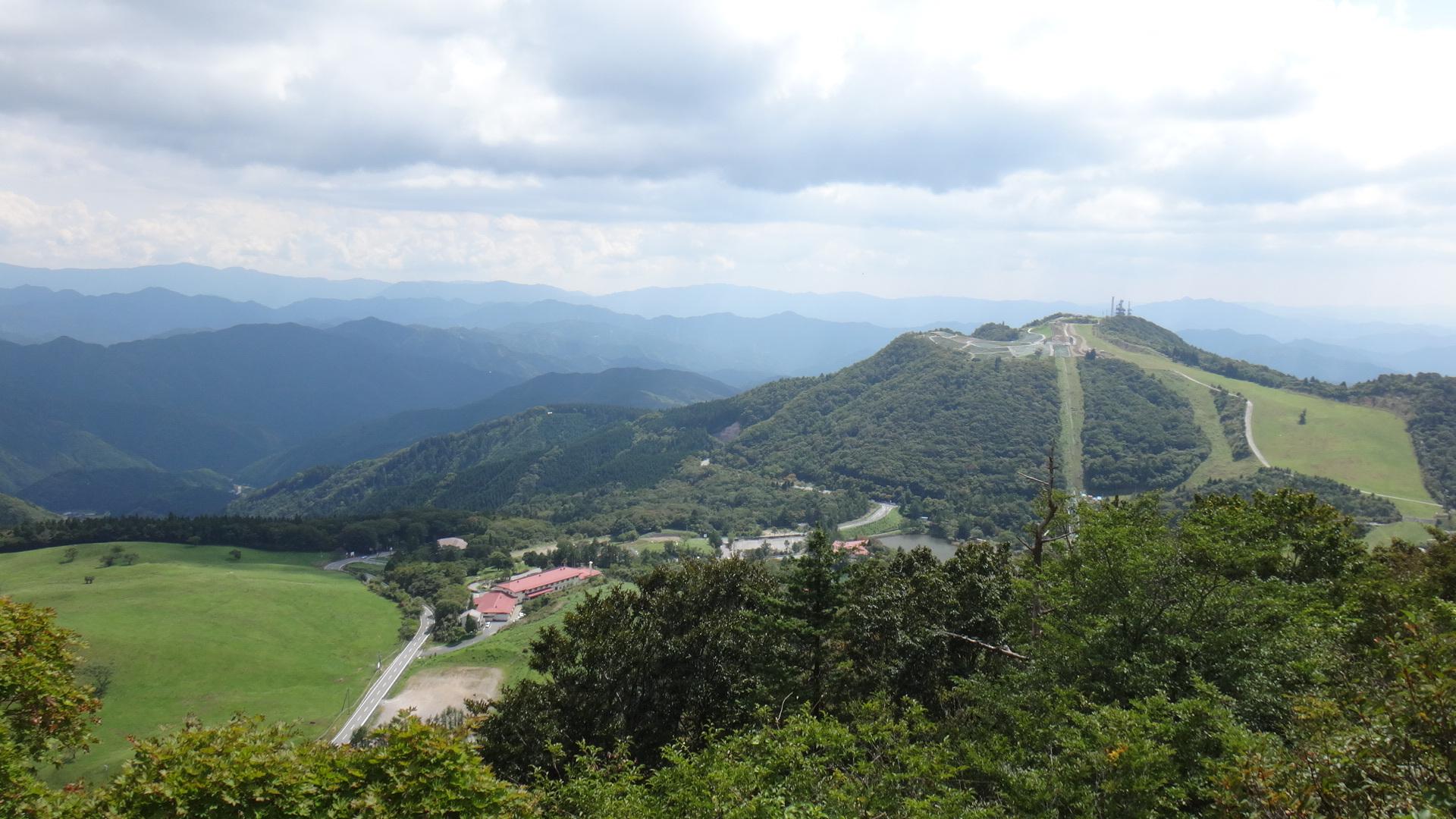 茶臼山へ15