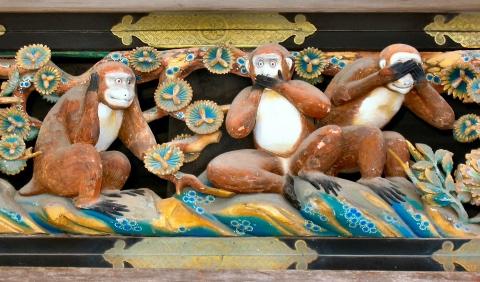 海外「日本人に笑われるぞ!」 英名門大学が日本の『三猿』を差別的と判断し炎上