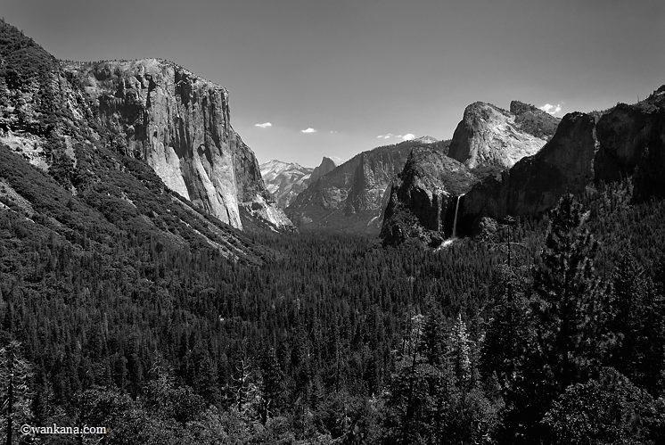 Yosemite valley, USA, 2017