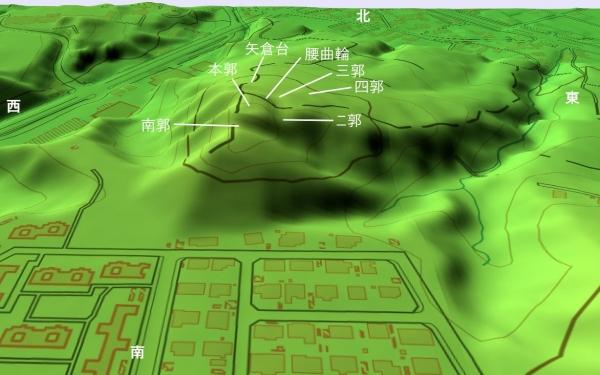 寺尾茶臼山城20