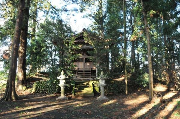 栃木県前方後方墳の様相17吉田温泉神社古墳