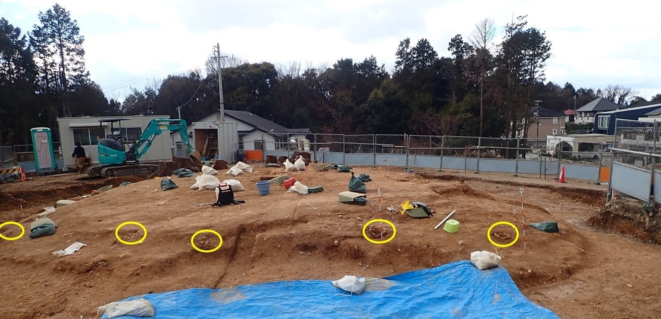 松ヶ洞18発掘2
