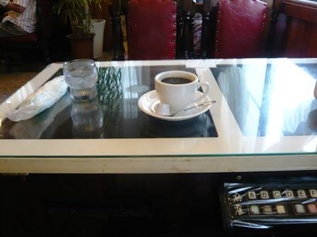 まゆ:ホットコーヒー1