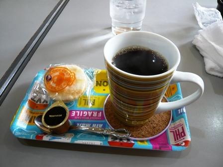 まろん:ホットコーヒー1