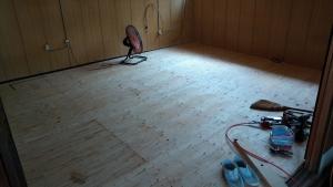 07 床合板下地完了