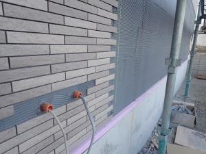 6 蒲郡市金平町O様邸新築工事(外壁タイル張り)