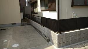 5 完成(土井町Y様邸ブロック塀改修工事(完成))