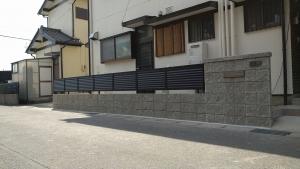1 完成(土井町Y様邸ブロック塀改修工事(完成))