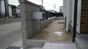 3 完成(土井町Y様邸ブロック塀改修工事(完成))