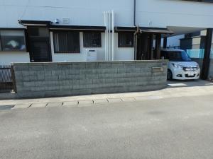 1 着工前(土井町Y様邸ブロック塀改修工事(完成))