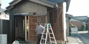 2 既設外壁解体作業(幸田町菱池S様邸大型リフォーム工事(サッシ取付))