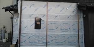 6 透水防湿シート貼り(幸田町菱池S様邸大型リフォーム工事(サッシ取付))