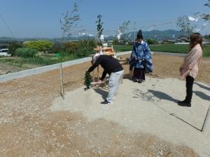 2 幸田町 Nの家新築工事(地鎮祭)