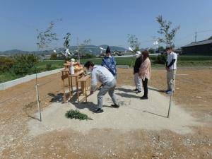 3 幸田町 Nの家新築工事(地鎮祭)