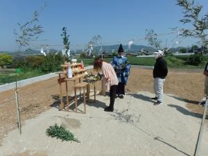 6 幸田町 Nの家新築工事(地鎮祭)
