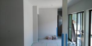 2 壁クロス貼(菱池S様邸大型リフォーム工事(内装クロス・玄関タイル))