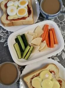 朝ご飯2.7.24
