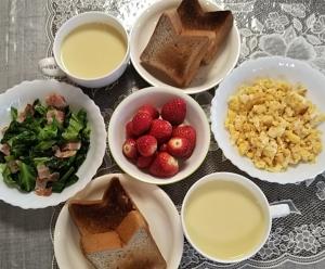 朝ご飯3.3.21