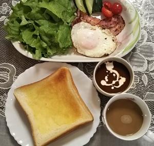 朝ご飯3.3.28