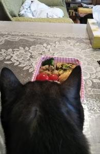 朝ご飯3.4.22クマ1