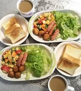 朝ご飯3.4.29
