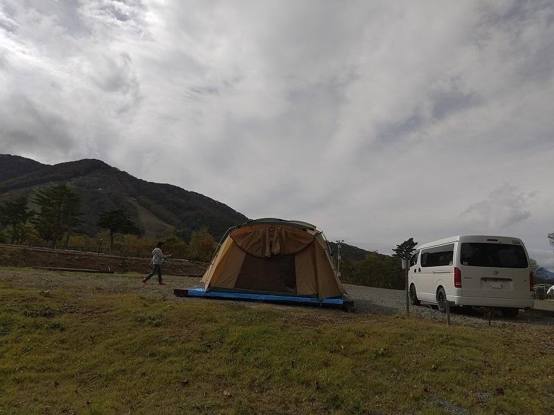 キャンプ 場 高原 斑尾