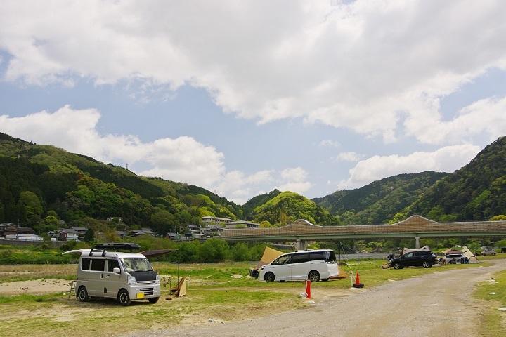 2021年4月19日 笠置キャンプ場 (1)