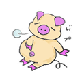 食べすぎた豚小