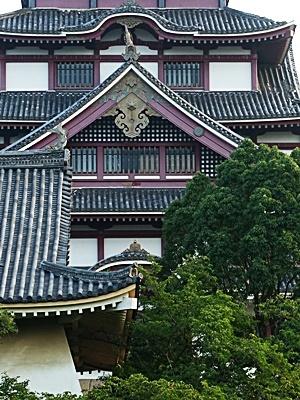 桃山城ダースベイダー顔2008