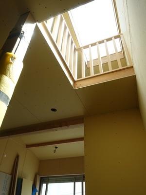 koyokan5階段室トップライト2009