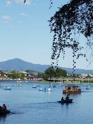 嵐山桂川ボート2009