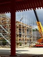 京都御所清涼殿修理工事中2012