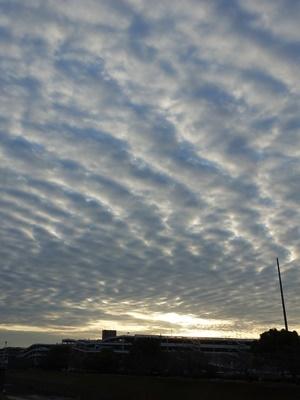 夕暮れの空と雲2012